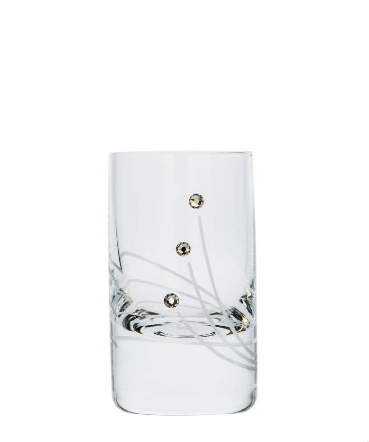 Vodka Spirit glass 30 ml 30538 Swarovski Crystals (6KS)
